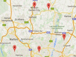 Ear Wax Removal Micro Suction Clinic Location Map