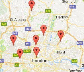 Where To Find Our London Microsuction Service